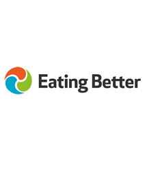 Eating Better logo - name with red, green and blue circle next to it